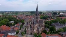 Aerial View Of Basilica And Da...