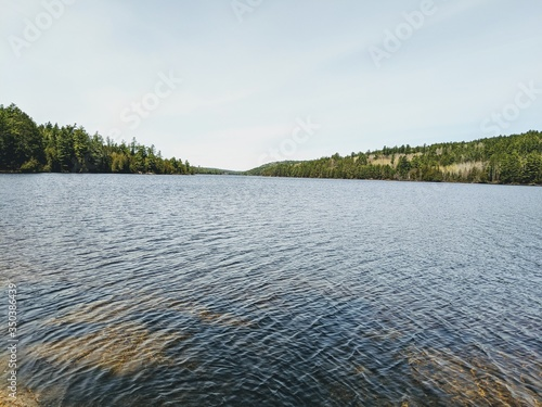 Lake McManus in the Algonquin Park Canvas Print