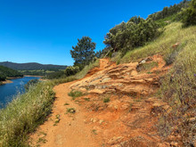 Technical Trail On Side Hill O...