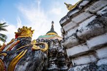 Muen Lan Temple Of Chiang Mai Province