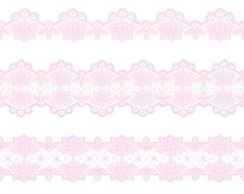 Set Of Lace Borders