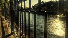 Close-up Of Railing By River I...