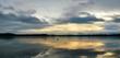 Sky Reflecting In Lake