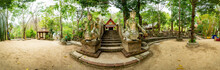 Landscape Of Wat Pha Lat