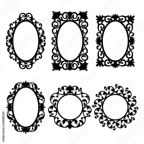 Mirror frames #350482216