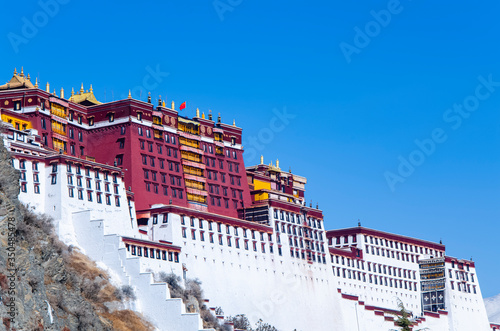 The Potala Palace Tibet, Tibet Attraction Canvas
