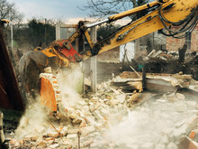 House Crushing And Collapse. E...