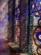 Stained Glass Windows In Building