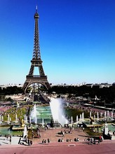 Eiffel Tower And Trocadero Square