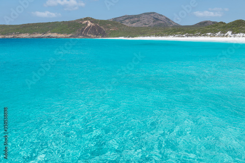 A view of Hellfire Bay, Cape le Grand National Park, Western Australia Canvas Print
