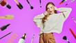 Leinwandbild Motiv joy of beauty salon