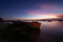 Fishing Boats On Binh Thuan Be...