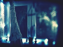 Illuminated Lights On Widow
