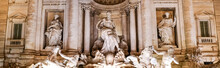 Panoramic Concept Of Trevi Fou...