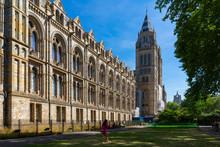 Natural History Museum In London, UK