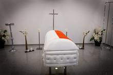 Polish Flag Funeral Home With ...