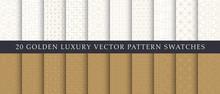 Luxury Elegant Geometric Vector Patterns Pack