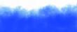 Leinwandbild Motiv Abstract gradient blue white cloudy wallpaper. Spring or summer sky.