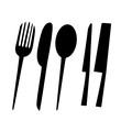 Leinwandbild Motiv Eating tools and kitchen 2