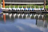 Fototapeta Londyn - Rowery wodne Nad kanalem , londyn
