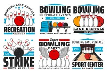 Bowling With Skittles And Ball...