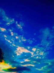 Fototapeta na wymiar Scenic View Of Sky And Clouds