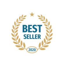 Best Seller 2020 Badge Logo De...