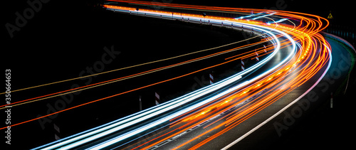 lights of cars with night #350664653