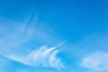 Blue Sky With Cirrus Clouds. T...