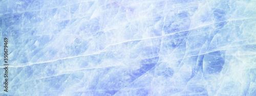 Blue aquamarine turquoise white abstract quartz marbled texture background banne Canvas Print