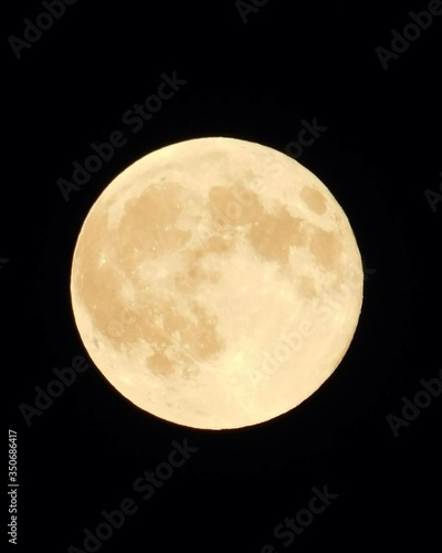 Fotografie, Obraz Close-up Of Full Moon At Night