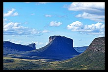 Buttes In Valley
