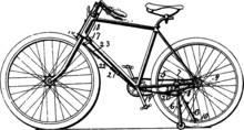 Bicycle Parts Diagram