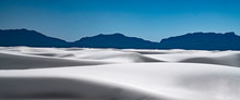 A Serene View Of White Sands N...