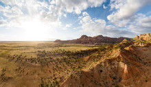 Aerials Over Arizona Desert Du...