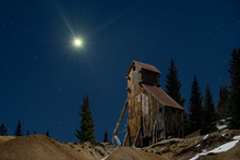 Abandoned Mining Structures In...
