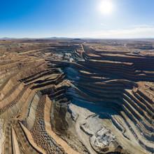 Boron Mine In The California H...