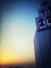 Low Angle View Of Bell Tower A...