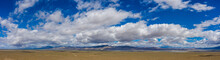 Panoramic View Of The Mojave Desert