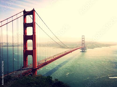 Платно Scenic View Of Golden Gate Bridge