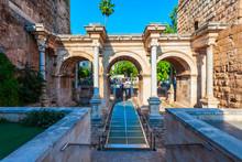 Hadrians Gate In Antalya, Turkey