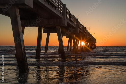 The Jacksonville Beach Fishing Pier #350728003