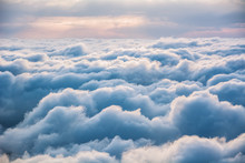 View Of The Clouds From Above ...