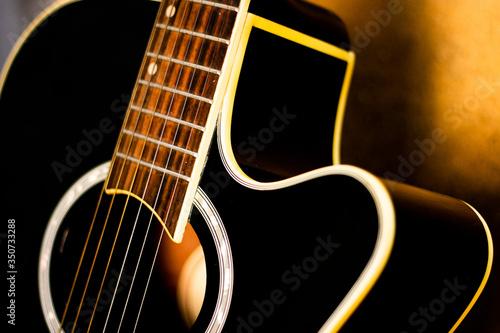 violão, cordas,  traste Canvas Print