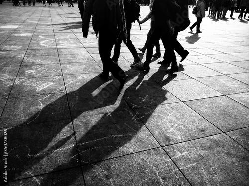 Fotografia, Obraz Student Walking On College Campus