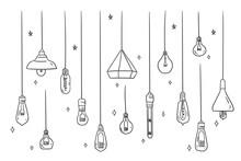 Set Of Ceiling Or Hanging Ligh...