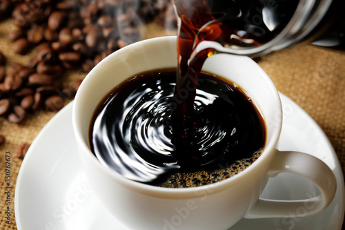 Obraz コーヒー Coffee - fototapety do salonu