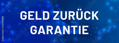 Photo Geld zurück Garantie web Sticker Button