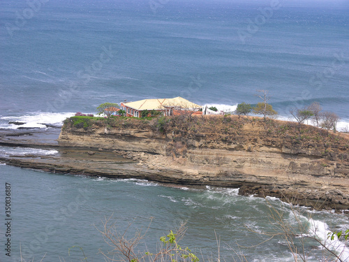 Photo surfing adventure at playa Santana in Nicaragua