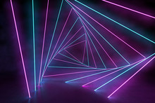 Ultraviolet 3D Neon Light Back...